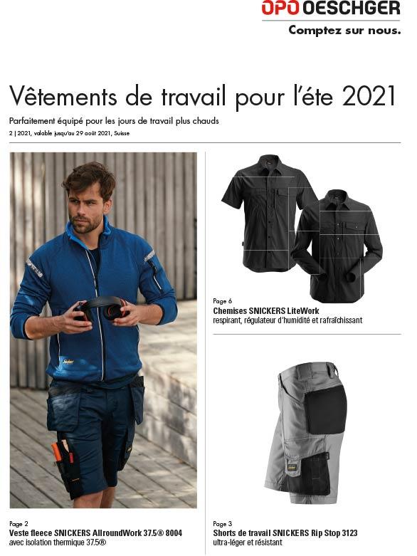 Arbeitskleidung Sommer 2021