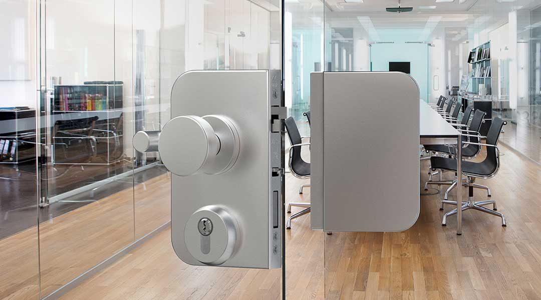 DORMAKABA Glas: La serratura OFFICE con funzione antipanico E